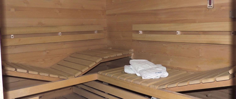Sauna (gegen Gebühr)