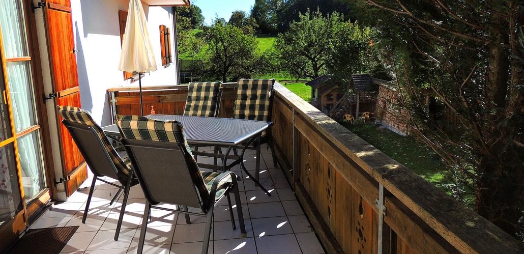 "Balkon ""FeWo Am Wald"""